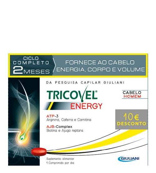 Tricovel Energy 3x30 Comprimidos