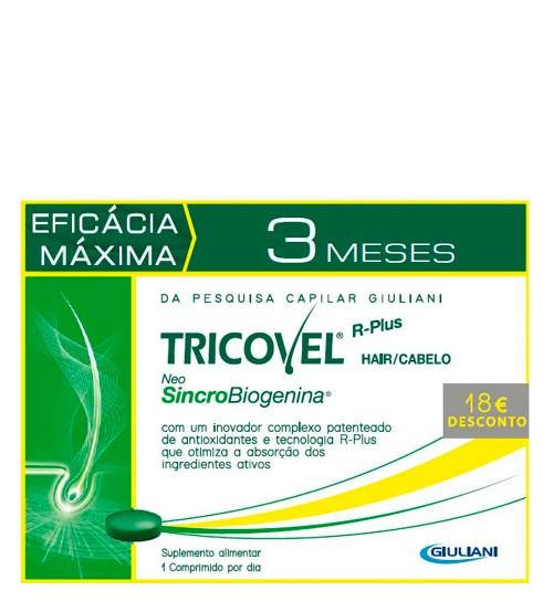 Tricovel NeoSincroBiogenina 3x30 Comprimidos Preço Especial