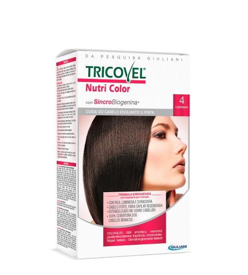 Tricovel Nutri Color 4 Castanho
