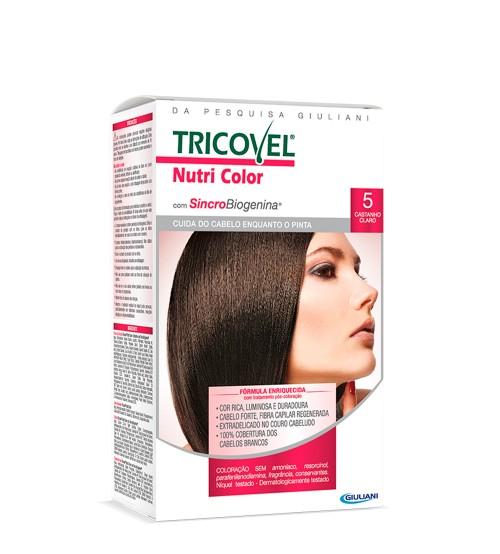 Tricovel Nutri Color 5 Castanho Claro
