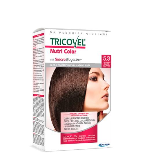 Tricovel Nutri Color 5.3 Castanho Claro Dourado