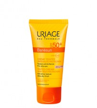 Uriage Bariésun Creme Com Cor Claro SPF50+ 50ml
