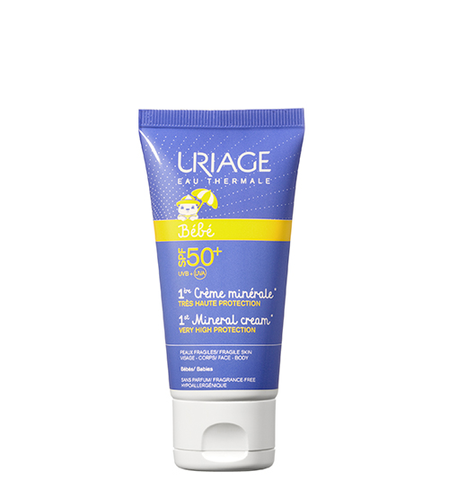 Uriage 1º Creme Mineral SPF50+ 50ml