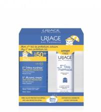 Uriage 1º Creme Mineral SPF50+ 50ml + OFERTA 1ª Água Termal 50ml