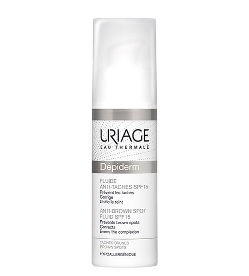 Uriage Dépiderm Fluido Antimanchas SPF15 30ml