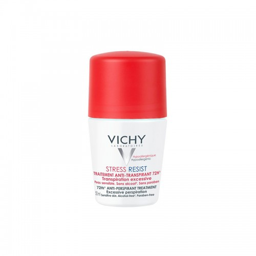 Vichy Stress Resist Tratamento Intensivo Antitranspirante 72h 50ml