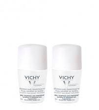 Vichy Desodorizante Antitranspirante 48h Pele Sensível 2x50ml