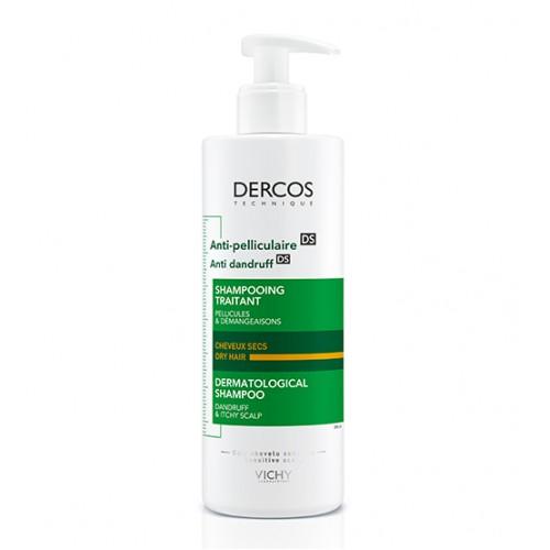 Vichy Dercos Shampoo Anticaspa Cabelos Secos 390ml