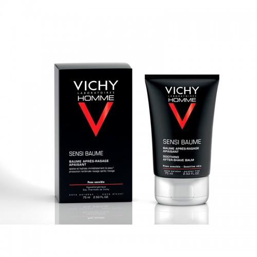 Vichy Homme Sensi Baume Bálsamo After-Shave Calmante 75ml