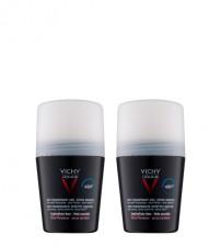 Vichy Homme Antitranspirante Pele Sensível 48h 2x50ml