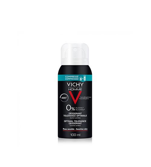 Vichy Homme Desodorizante 48h Tolerância Ótima 100ml
