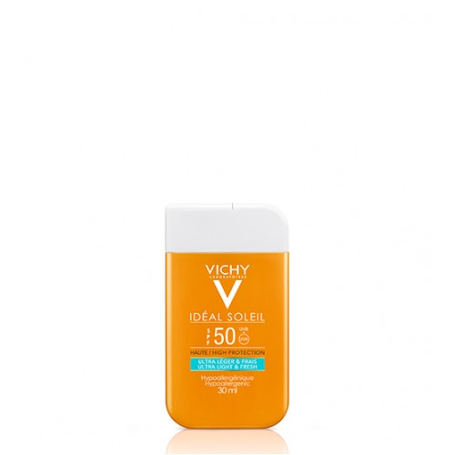 Vichy Ideal Soleil Fluido Rosto & Corpo Pocket FPS50 30ml