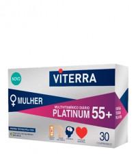 Viterra Platinum 55+ Mulher 30 Comprimidos