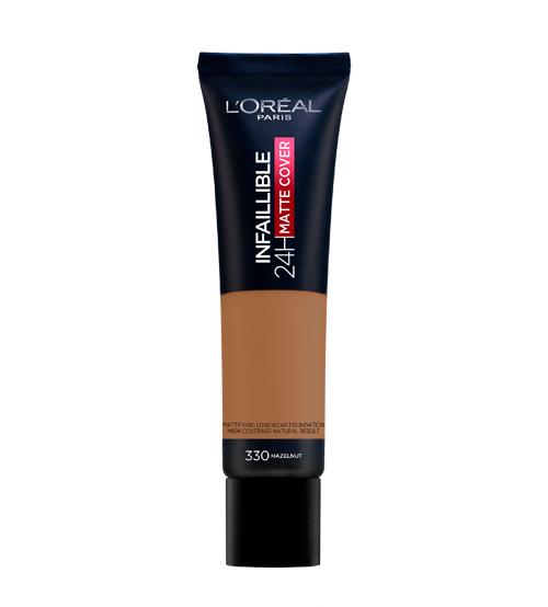 L'Oréal Infaillible Base Matte Cover 330 Hazelnut 30ml