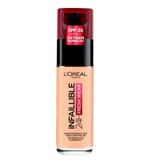 L'Oréal Infaillible Base 24H Fresh Wear 180 Rose Sand 30ml